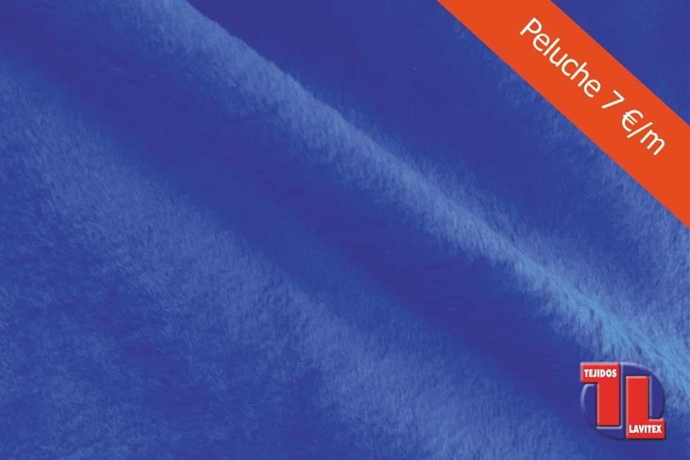 PELUCHE Color azulina, ancho 150 cm. Todos los colores disponibles