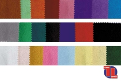 FIELTRO. Carta de colores, ancho 90 cm.