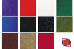 Colores: Negro, Blanco, Rojo, Gris, Burdeos, Azul, Violeta, Verde billar, Verde medio, Fuxia y Sahara.