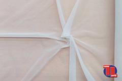 TUL ELÁSTICO Color Blanco, ancho 150 cm.