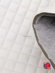 Polipiel acolchada en color blanco