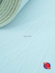Polipiel lisa foamizada en color blanco